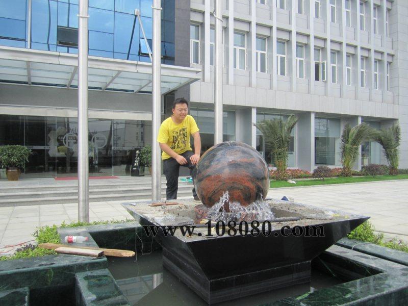 襄阳风水球价格 花岗岩风水球